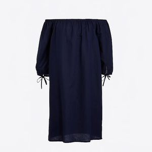 nwt jcrew off the shoulder beach dress j0538